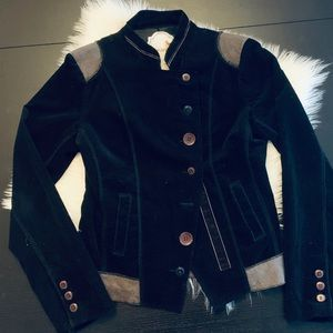 BEAUTIFUL Nick & Mo black corduroy jacket! Small